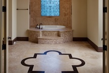 Bathroom Bliss / Blissful bathroom ideas to create a luxurious yet affordable spa like retreat or resort style guest bath. For more design ideas, check out Orlando Custom Homebuilder Jorge Ulibarri at www.imyourbuilder.com