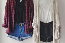 fall and winter clothing / by Courtney Troxclair