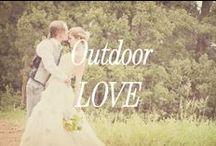 Outdoor Weddings / Outdoor wedding tips + inspirations
