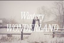 Wintery Wonderland Weddings / The goosebumps and chilly air are no reason to move the ceremony or cocktail hour inside. Granted, you've got your main squeeze to keep you warm, but here are some unique ideas for the others! Winter Wonderland Weddings!