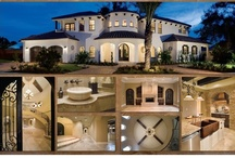 Mesmerizing Montages / Images of the exteriors and interiors of homes designed and built by Orlando Custom Homebuilder Jorge Ulibarri, imyourbuilder.com. For design ideas, watch Trade Secrets at www.youtube.com/tradesecretsbyjorge