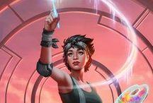 RPG - Modern/Futuristic Art