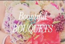 Bountiful Bouquets / On trend wedding bouquets, nosegays and English Garden bouquets.