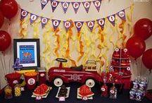 Fire Truck / Fireman Parties