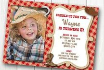 Cowgirl~Cowboy Party