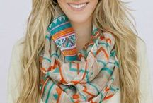 Scarves ♥ / by Chanel (: