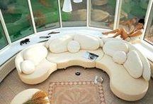 if ( Sofa - Round ) / Round shape sofa