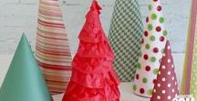 """Deck the Halls / Some are gorgeous and belong in a magazine (but are really simple DIY """"hacks""""). Some are endearing creations your kids can help with. Others still are specific to a theme (rustic, specific colors, winter wonderland, etc). All are Christmas decorations for your home that inspire you to relax and enjoy time together during the holidays."""