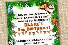 Jungle / Safari Party / Jungle / zoo / safari party ideas and activities.