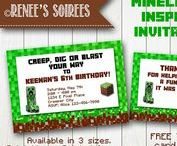 Minecraft Party & Activities / Ideas for Minecraft game lovers!
