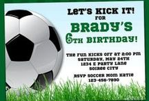 Soccer! / Soccer parties, crafts, treats and more!