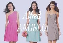 Alfred Angelo Bridesmaid Dresses / Brideside now carries Alfred Angelo! These bridesmaid dresses range from $99-$200 in price and are perfect for all types of weddings. Visit the whole collection at Brideside.com.