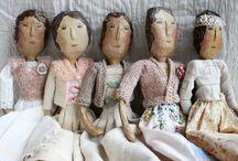 Wired dolls / Fibre arts ideas