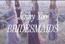 Jenny Yoo Bridesmaid Dresses / Some days we wish Jenny Yoo was our spirit animal. We love her designs, dresses, and color choices. In our book Jenny Yoo simply can't go wrong.