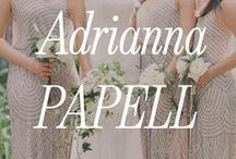 Adrianna Papell Bridesmaid Dresses / We love Adrianna Papell's beaded bridesmaid dresses. Not only are the simply gorgeous but they are extremely flattering on all body types. Browse your favorite beaded bridesmaid dresses and sign up to meet your hands-on wedding party stylist today: http://brideside.com/sign-up/