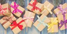 Gift Giving / Find awesome gift ideas for anyone on your list... plus easy DIY wrapping tips, tricks, and techniques to make your gifts beautiful when you give them!