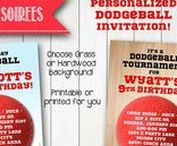 Dodgeball party / Dodgeball party food, decor and other ideas.