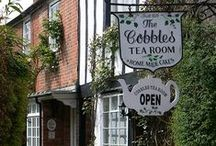 ❤ TEA Rooms & Shops / Where tea is (not only) served.