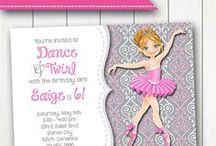 Dancer / Ballerina Party