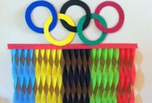 Olympics Family Fun / Whether you're gearing up for the Olympics (Winter or Summer!) or just hosting an Olympics style party, we've collected games, family activities, recipes, and ideas for family activities and Olympics viewing events!