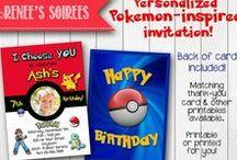 Pokemon party / Pokemon-inspired activities, snacks, etc!