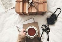 ❤ TEA Pairings / A cup of tea paired with papers, music... pleasure maximized!
