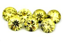 Yellow Sapphires / Visit Our Yellow Sapphire Collection at; www.SapphireBazaar.com