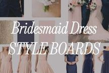 Bridesmaid Dress Inspiration Boards / Need a little inspiration? This is just a sampling of the variety of bridal party styles our team of style consultant team puts together every day!  Want your own board? Shop the best bridesmaid dresses, meet your free style consultant and try on bridesmaid dresses at home! Join the (bridal) party at brideside.com/sign-up.