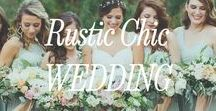 Rustic Chic Inspiration / Rustic Chic Wedding Inspiratoin