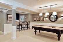 Basement Remodel Ideas / by Trisha Sims