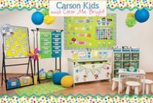 Classroom Inspiration / So colorful and fun...these are classrooms we love and know you will too!