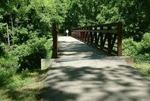 Hitting the Trails in Cape Girardeau! / Cape Girardeau features miles of recreational trails, hiking and bike lanes, all with their own special features!  Whether you're a seasoned cyclist or just wanting to take a little walk, Cape Girardeau has the trail for you!  Learn more here:  http://www.visitcape.com/hiking / by VisitCape