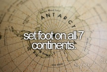 Bucket List / by Alex Barreuther