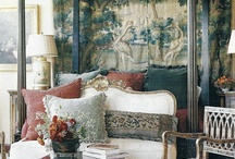 Dreamy bedrooms, antiques in mind. . .