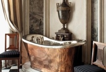 Masterful 'Master' bathrooms, dressing rooms - antiques in mind. . . .