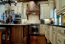 Kitchens with antique lovers in mind.
