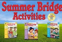 Summer Learning - Prevent Summer Learning Loss! / On average, students lose over 2 months of grade level equivalency each summer! Start your own summer learning program today to keep your children on track all year long and give them a boost for next year! With Carson-Dellosa's Summer Bridge Activities summer workbooks and flash cards, plus lots of other summer education ideas, this board is your hotspot for summer learning success! / by Carson-Dellosa Publishing