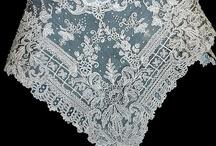 Antique lace, fabrics