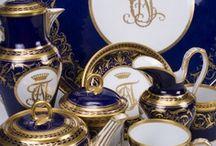 Antique porcelains, china, pottery - ceramics