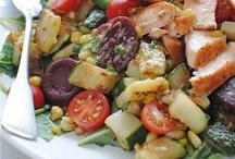 """My """"Foodie"""" stash:  Salad, Veggies"""