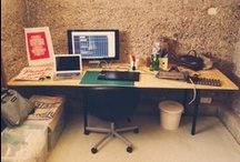 home & workspace inspiration / Inspiration for home & office workspaces.