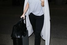 STYLE - TRAVEL / #travel #wear #outfit #inspiration #outfit #explore #celebrity #luggage #tips #airport