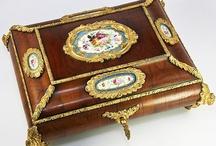 Antique boxes, box, casket