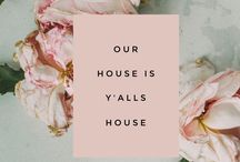 Our House is Y'alls House Blog