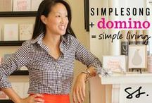 SIMPLESONG + domino: Simple Living