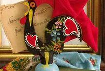 Portuguese folk art / Vintage and newer portuguese folk art  for home decor, collectibles. / by Vintage GlamArt