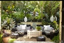 Garden Ideas / Inspiration ideas for gardens....