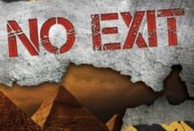 No Exit / My first full-length novel, releasing March 17!