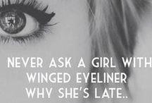 a girls life.