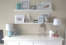 Above the Dresser Ideas / Alternatives to a single big mirror centered over the dresser. / by ThreeOldKeys Laurie C